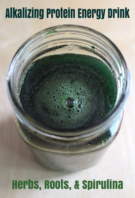 Fresh Spirulina Meal Energy Drinks
