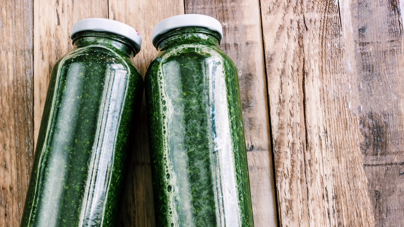 Image of Fresh Spirulina Detox Juice