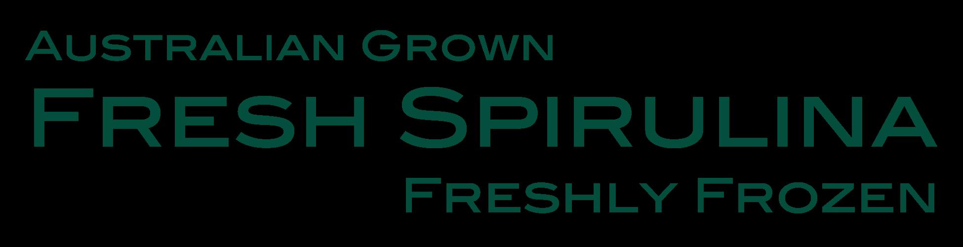 Fresh Australian Spirulina